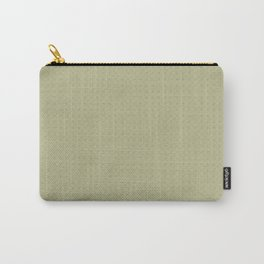 Sweet Pea Green on Earthy Green Parable to 2020 Color of the Year Back to Nature Polka Dot Grid Carry-All Pouch