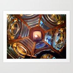 Inside the Light Diffuser Art Print