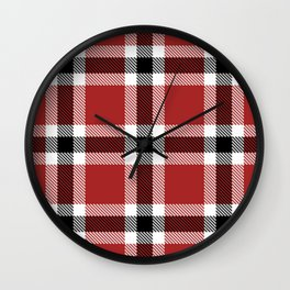 Susan's Plaid Wall Clock