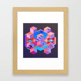 Cubic Inversion III Framed Art Print