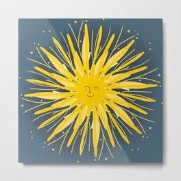 Marigold sun Metal Print