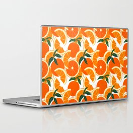 Orange Harvest - White Laptop & iPad Skin