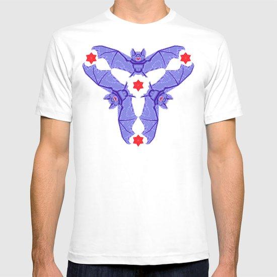Vampire Blood Pattern T-shirt