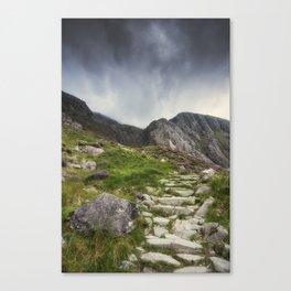 Mountain Path Canvas Print