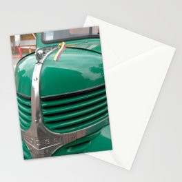 Close up of Truck Stationery Cards