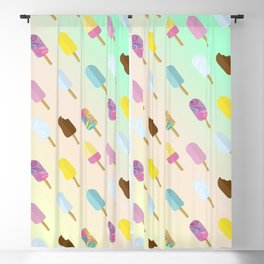Popsicle Summer Blackout Curtain
