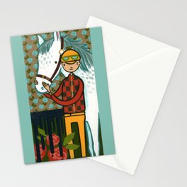 FOUR HORSEMEN OF THE APOCALYPSE SERIES: 1 OF 4- THE WHITE HORSE Stationery Cards