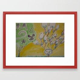 I LIKE TREES Framed Art Print