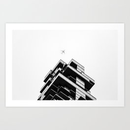 56 Leonard Street skyscraper in Tribeca, New York City Art Print