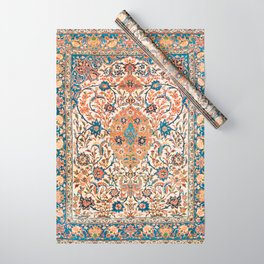 Isfahan Antique Central Persian Carpet Print Wrapping Paper