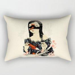 The Crane Wife Rectangular Pillow