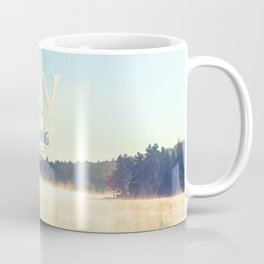 Joy Comes in The Morning Coffee Mug