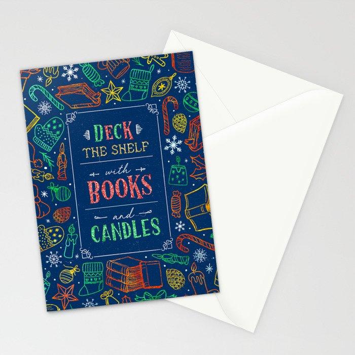 Deck The Shelf Stationery Cards
