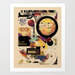 jhgfdjdgf tea Art Print