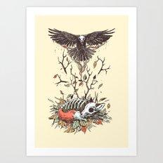 Eternal Sleep Art Print