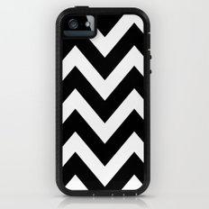 BLACK AND WHITE CHEVRON iPhone (5, 5s) Adventure Case