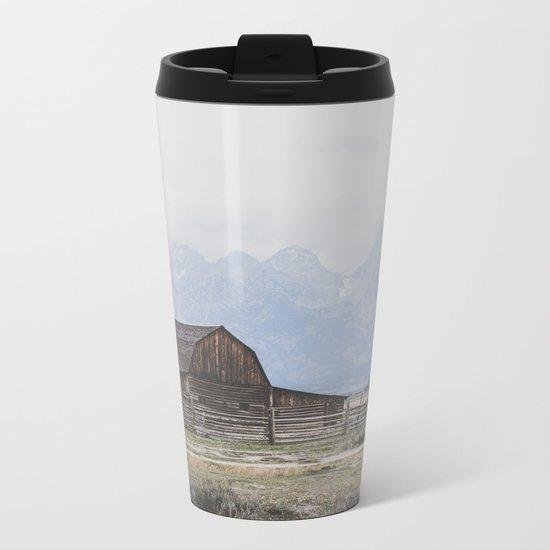 Mormon Row Metal Travel Mug