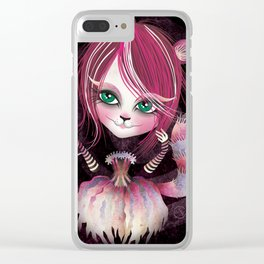 Cheshire Kitty Clear iPhone Case