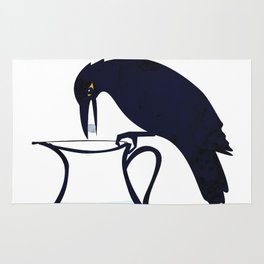 The Crow and the Pitcher Rug