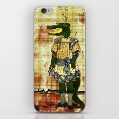 Crocogirl iPhone Skin