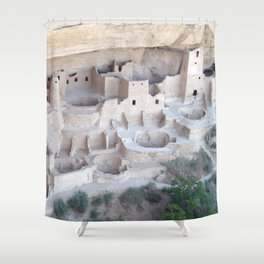 Pueblo on the Edge of Forever Shower Curtain
