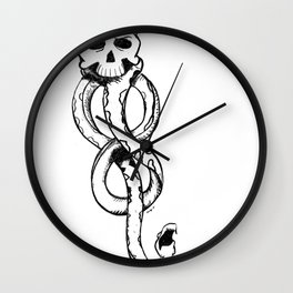 The Dark Mark Wall Clock