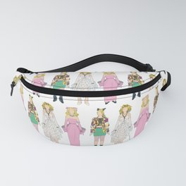 Triple Madge Material Girl Fanny Pack