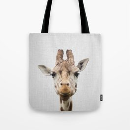 Giraffe - Colorful Tote Bag