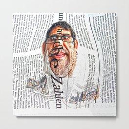 in the news  (comic ) Metal Print