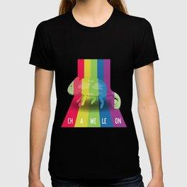 Chameleon In Colors T-shirt