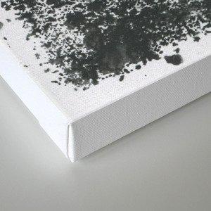 Black/white Canvas Print