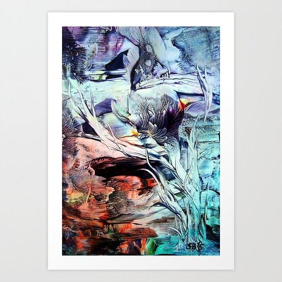 Crocus Art Print
