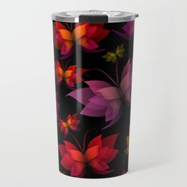 Digital Butterflies Travel Mug