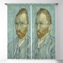 Vincent van Gogh - Self Portrait Blackout Curtain