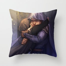 Rowan and Aelin Throw Pillow