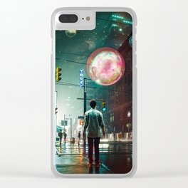 All Of A Sudden Clear iPhone Case