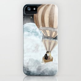 moonlight kisses iPhone Case