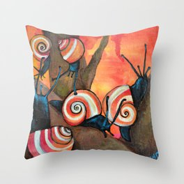 Dreamsicles Throw Pillow
