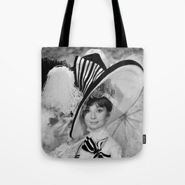 Audrey Hepburn ICONIC ICON BEAUTY SCENE Tote Bag