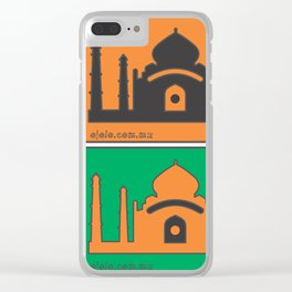 ind.eye Clear iPhone Case