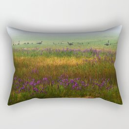 Hidden in the Mist Rectangular Pillow