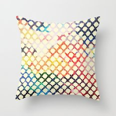 Paint Pattern Throw Pillow