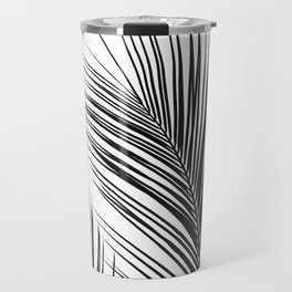 Tropical Palm Leaves #1 #botanical #decor #art #society6 Travel Mug