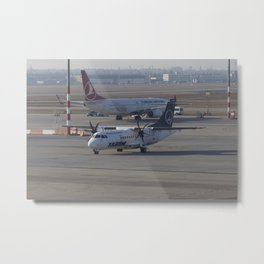Tarom ATR 42-500 Metal Print