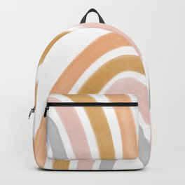 Boho rainbow Backpack