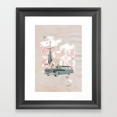 Sun Fun Framed Art Print