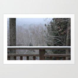 Last Snow Art Print