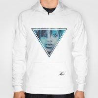 rihanna Hoodies featuring Rihanna by Nechifor Ionut