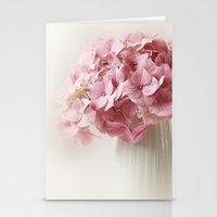 hydrangea Stationery Cards featuring Hydrangea by Ellen van Deelen