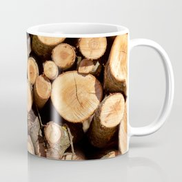 Woodpile Coffee Mug
